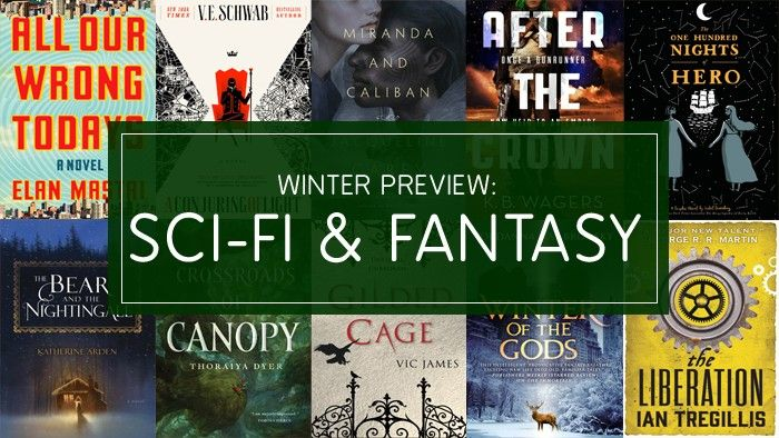 Winter 2017's Best Sci-Fi & Fantasy Books: Russian Folklore, Alternate Londons, and Shakespeare Revisited https://www.bookish.com/articles/winter-2017s-best-sci-fi-fantasy-books-russian-folklore-alternate-londons-and-shakespeare-revisited/