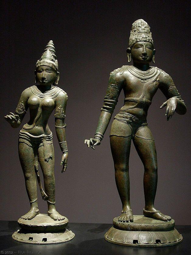 Shiva and Parvati,India, ca  I000 AC