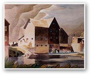 A.J. Casson  Mill At Washago
