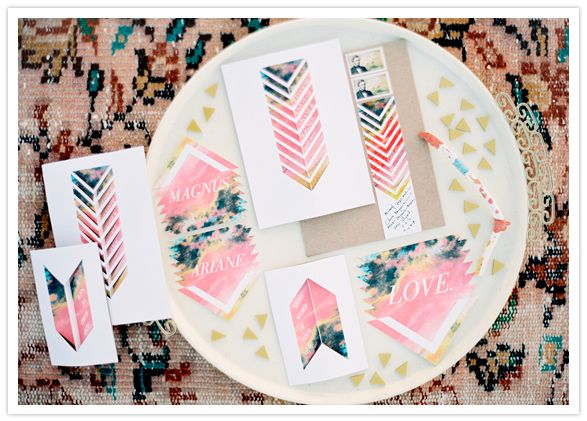 invitation suite by pitbulls and posies