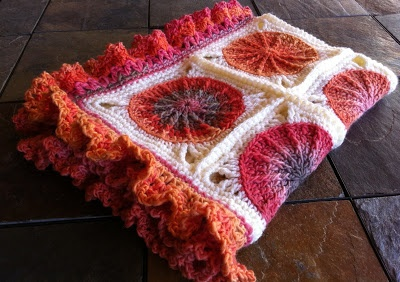 Scotty's Place: Groovy Baby Ghan ...with free pattern link and edging instructions.