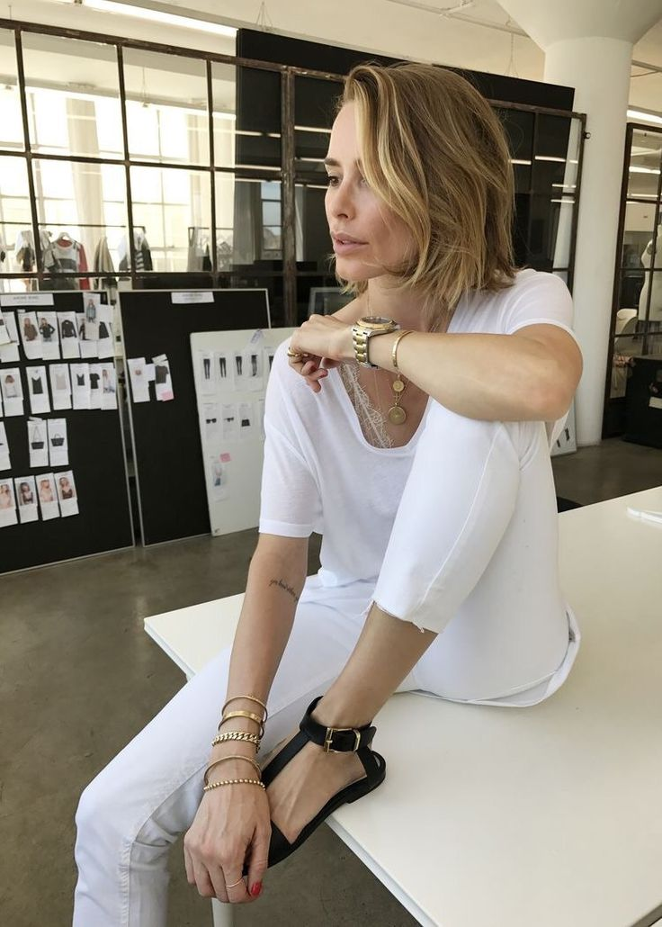 The keys to the fabulous style of Anine Bing ❥❥❥ | Effortless Chic
