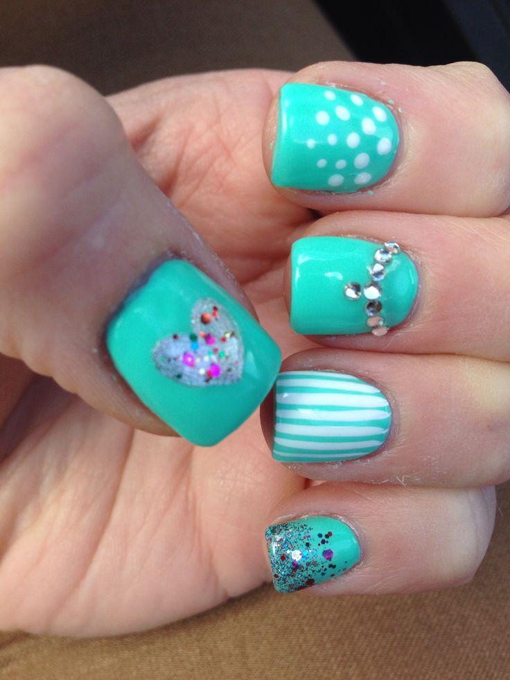 Spring nails 2014 #springnails #naildesigns #nails
