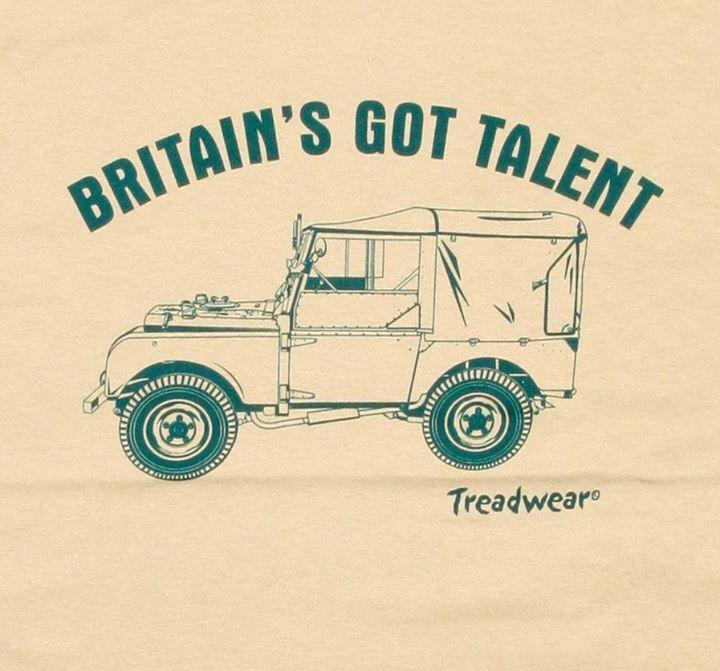 Land Rover Series 1 -Britain's Got Talent :)