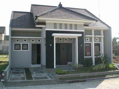 60 Gambar Tampak Depan Rumah Minimalis 1 Lantai - Sebuah rumah yang nyaman selalu diidentikkan dengan rumah besar dengan lahan luas dan des...