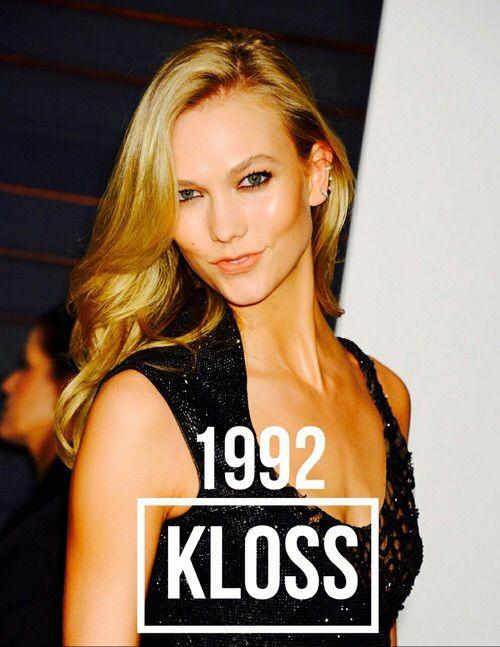 Image via We Heart It #1992 #KarlieKloss #model #models #Victoria'sSecret #klossy