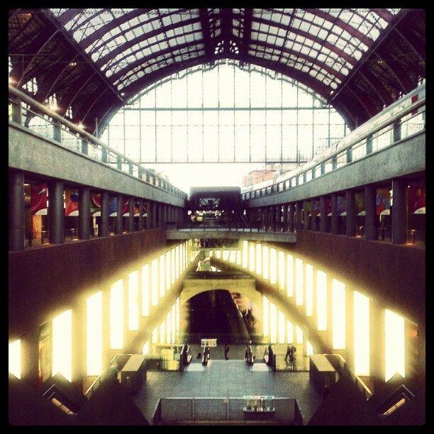 Antwerp Central Station • Instagram