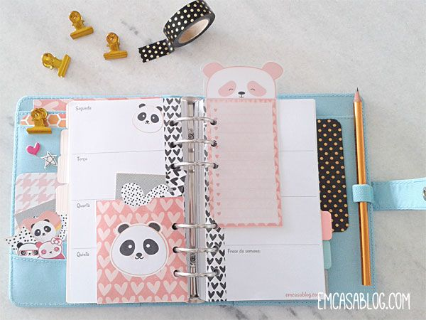 DOWNLOAD: KIT PLANNER SEMANAL Insert semanal