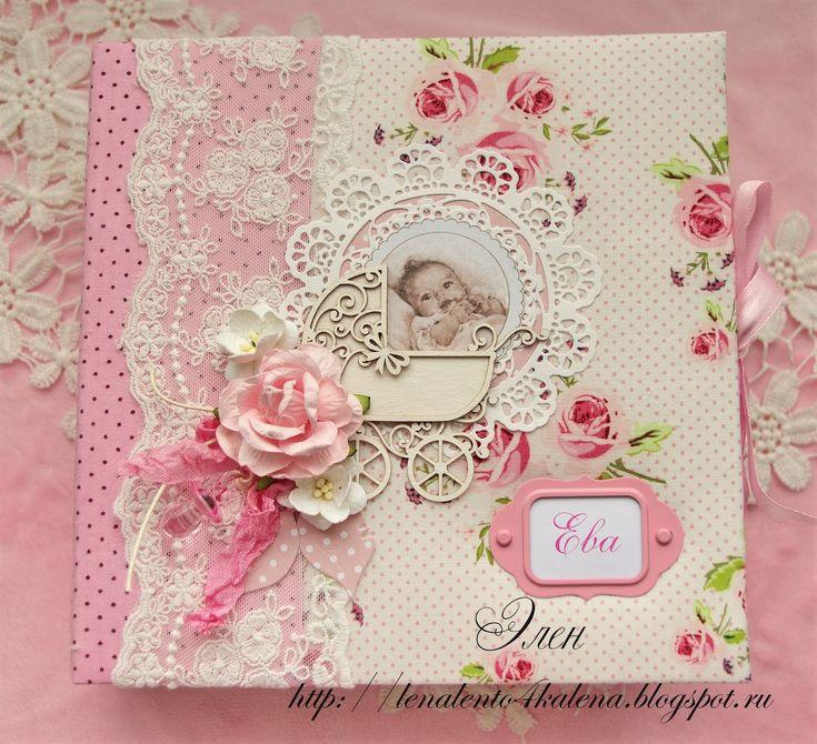 Открытки скрапбукинг фото новорожденным