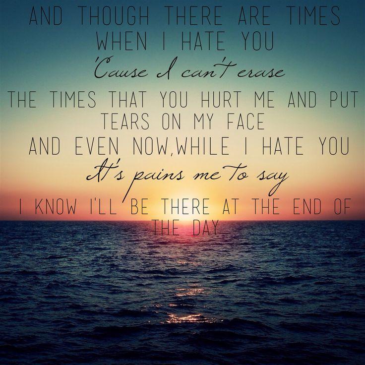 Sad Boy Alone Quotes: Best 25+ Broken Heart Lyrics Ideas On Pinterest