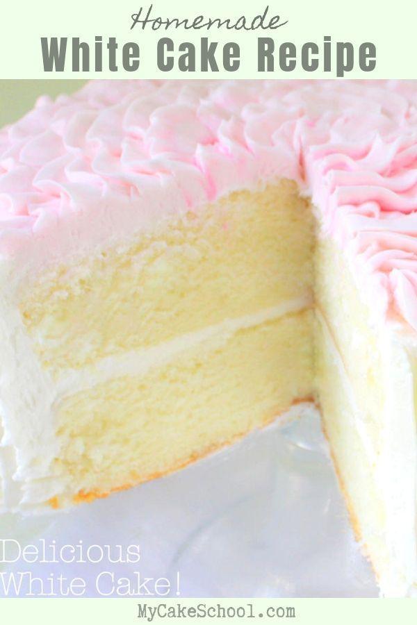 Rezept für weißen Kuchen von Grund auf neu – #on #season #cake #cake recipe #new #recipe #of …   – Cake Decorating Dıy Ideen