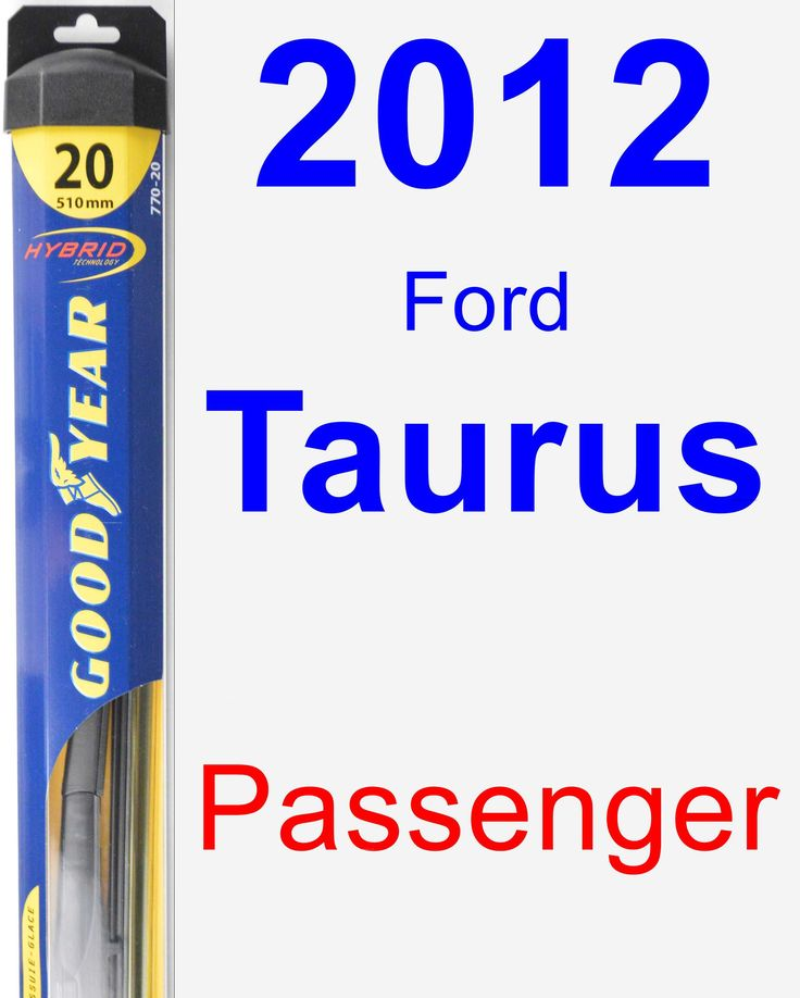 Passenger Wiper Blade for 2012 Ford Taurus - Hybrid