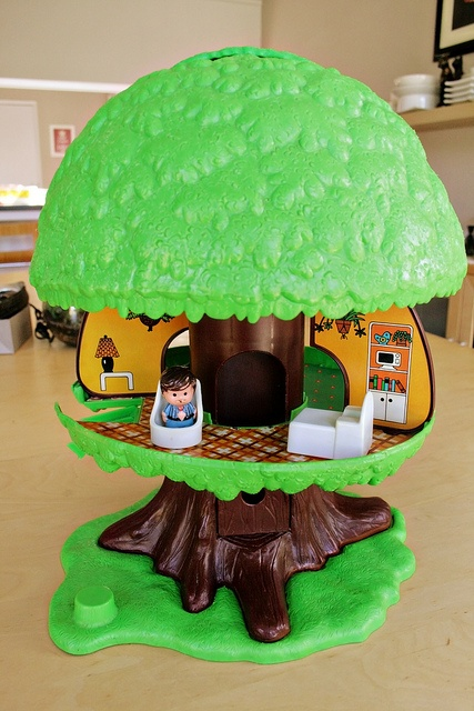 Kenner Tiny Tots Tree House... | Thrift Store Score ...