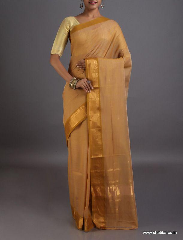 Drishya Pastel Shaded Enticing Plain #VenkatgiriCottonSaree