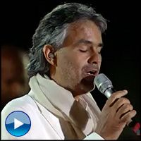 Andrea Bocelli's Angelic Performance is So Inspiring - Music Video