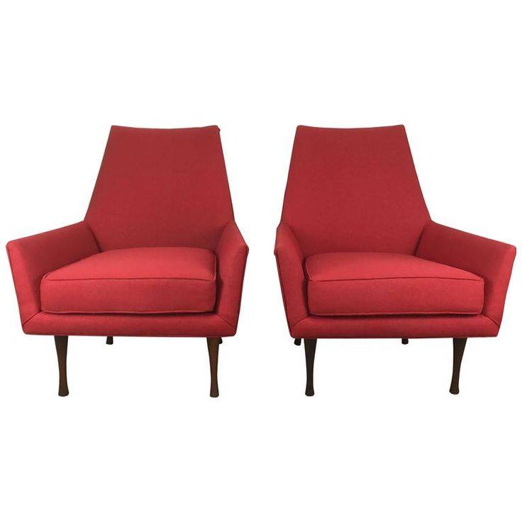 Paul McCobb Lounge Chairs for Widdicomb, Symmetric Group 1
