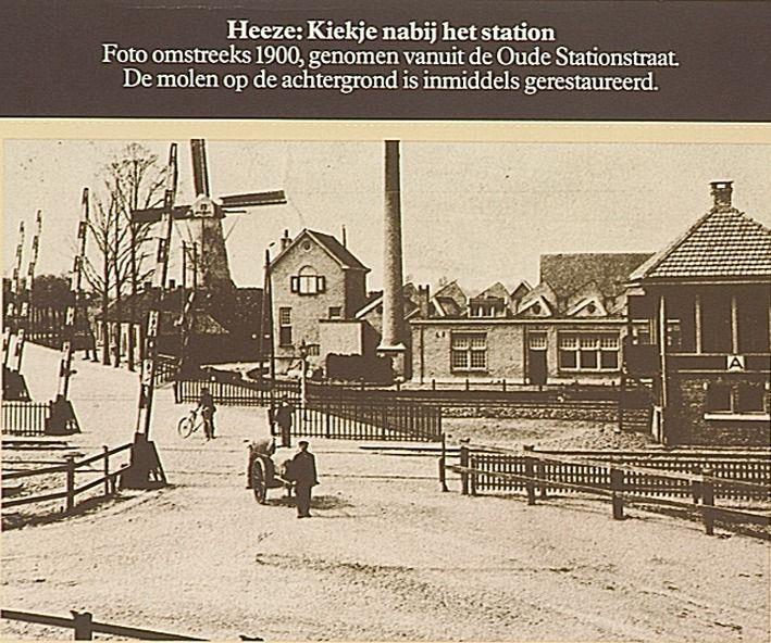 Spoorwegovergang Leenderweg-Stationstraat, gezien richting Leenderweg - 1895