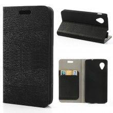 Funda Nexus 5 Flip Stand Wallet Madera Negra  $ 234.07