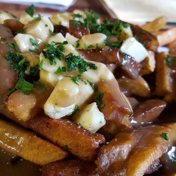 Need a dose of poutine on your Oregon coast trip? 7 Devils Brewery in Coos Bay, Oregon has you covered AND with our curds!
