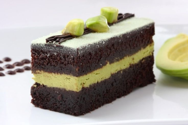 Unusual Cake Recipe Ideas That You should Try   ... - Avocado and chili are for nachos; but what if those two ingredients are used for unusual cake recipes? That would be delicious and of course, a must t... -  Delicious slice of avocado chocolate cake ~♥~ ...SEE More :└▶ └▶ http://www.pouted.com/2-unusual-cake-recipe-ideas/