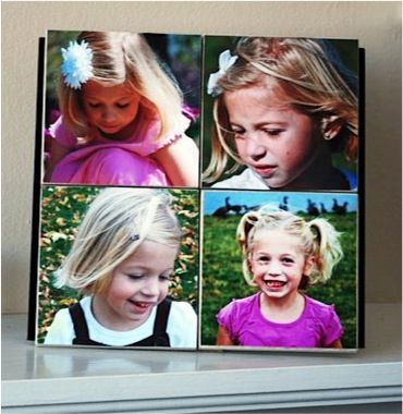 How to Make a Photo Tile Collage! #photo #craft