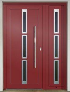GAVA529+529/2 RAL 3011 vchodove dvere