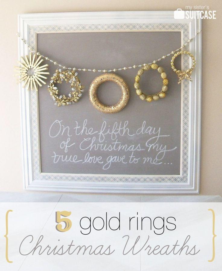 Best 25 Five golden rings ideas on Pinterest