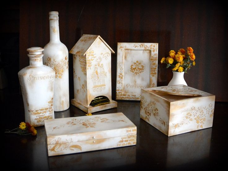 """""""Белое золото"""" комплект для кухни"""