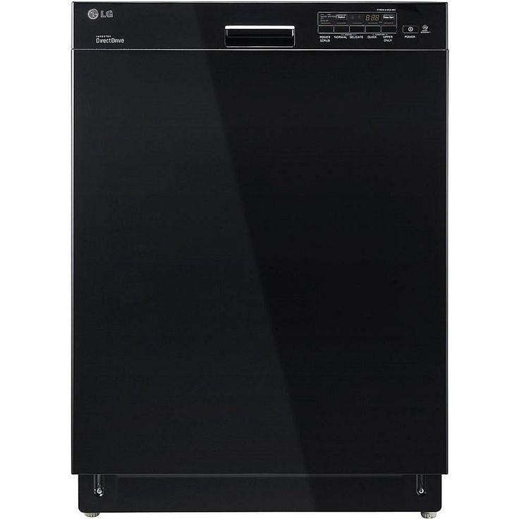 LG Semi-Integrated Dishwasher with Flexible EasyRack Plus System - Black