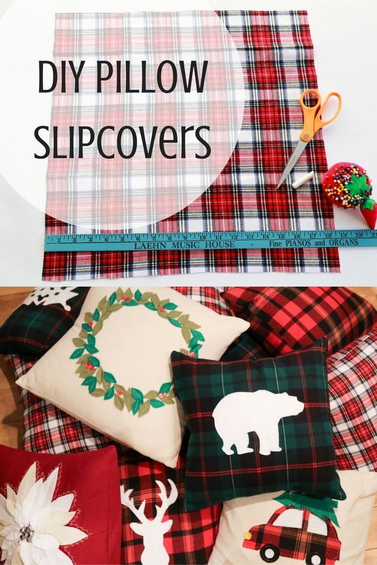 DIY Pillow Slipcover Tutorial! Looking to spruce up those boring couch pillows in hopes of glamorous holiday ones? Or perhaps you wish to change them out for additional seasons? Follow this step by step tutorial to see how to save oodles of money by making your own slipcovers!