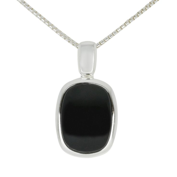 235 best whitby jet pendants set in sterling silver images on pendant whitby jet and silver curved oblong aloadofball Image collections