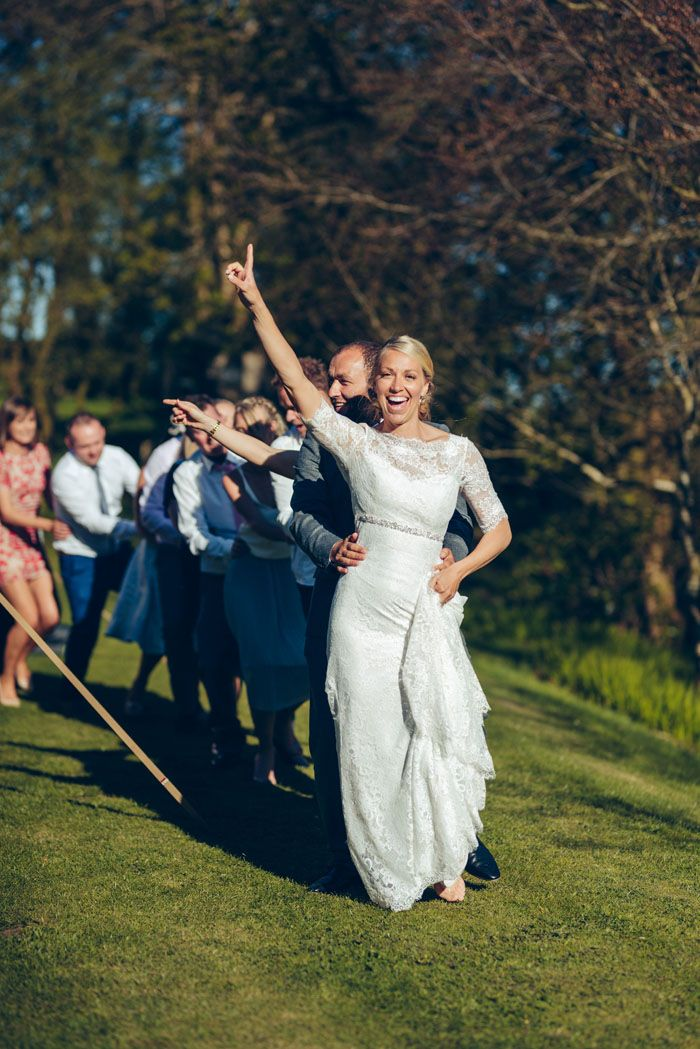 beach wedding south west uk%0A Wedding of the Week  Isabel Fisher and Dirk Parker   Dom Moore Photography    bridemagazine