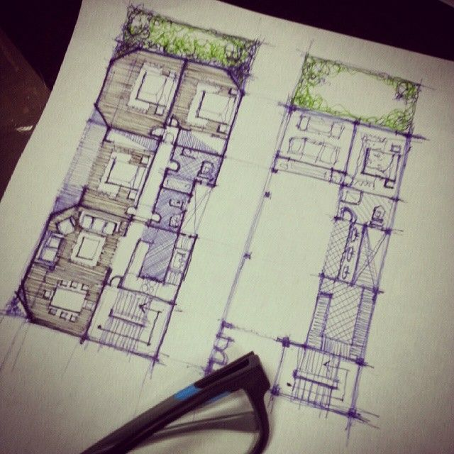 Best Sketches Images On Pinterest Architecture