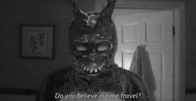 """You considered the possibility of time travel.   18 Ways """"Donnie Darko"""" Blew Your Teenage Mind"""