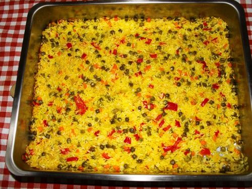 Paella cu legume - imagine 1 mare