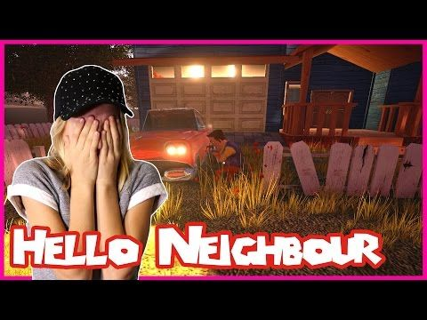Hello Neighbor / DON'T PLAY THIS SCARY HORROR GAME EVER!!! - YouTube