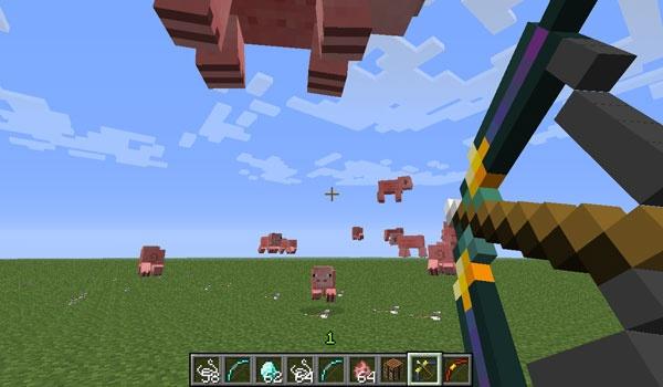 More Bows Mod para Minecraft 1.4.6 y 1.4.7