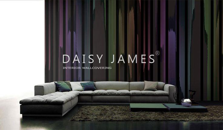 DAISY JAMES wallcover The Brush