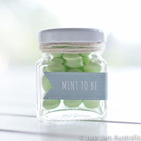 144 mini 50ml square glass jars - White metal lids - DIY wedding favours / Bomboniere / Bonbonniere on Etsy, $165.60 AUD