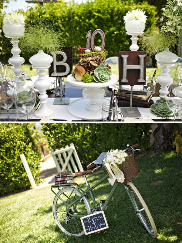 Shabby Chic Nature Inspired Wedding Tablescape 110 best