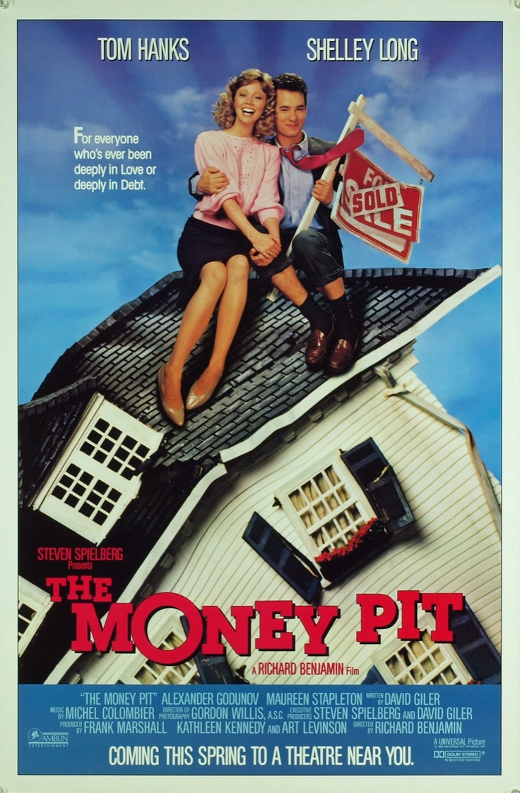 The Money Pit (1986) - funniest scene is when Tom is stuck in the hole in the floor
