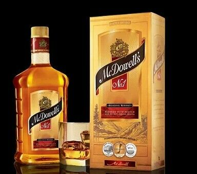 McDowells' No 1 is  termed as the most popular and best liquor brands in India. It comes for various liquors like Whiskey, Rum, Brandy and others. The huge market share of the brand gives the brand immense reputation. McDowell's is available all across the country and is one of the most affordable brands as well. This is a product of the United Spirits limited.