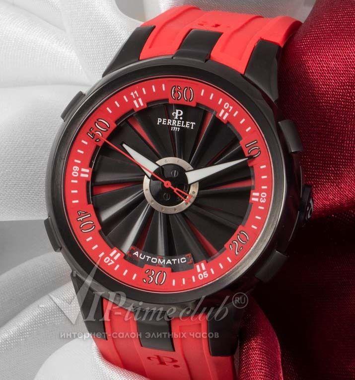 """Реплики часов Perrelet- Часы """"Double Rotor Turbine Racing XL"""" от Perrelet модель № 197.2"""