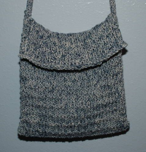 Beginning knitters envelope purse knit/crochet/spinning Pinterest