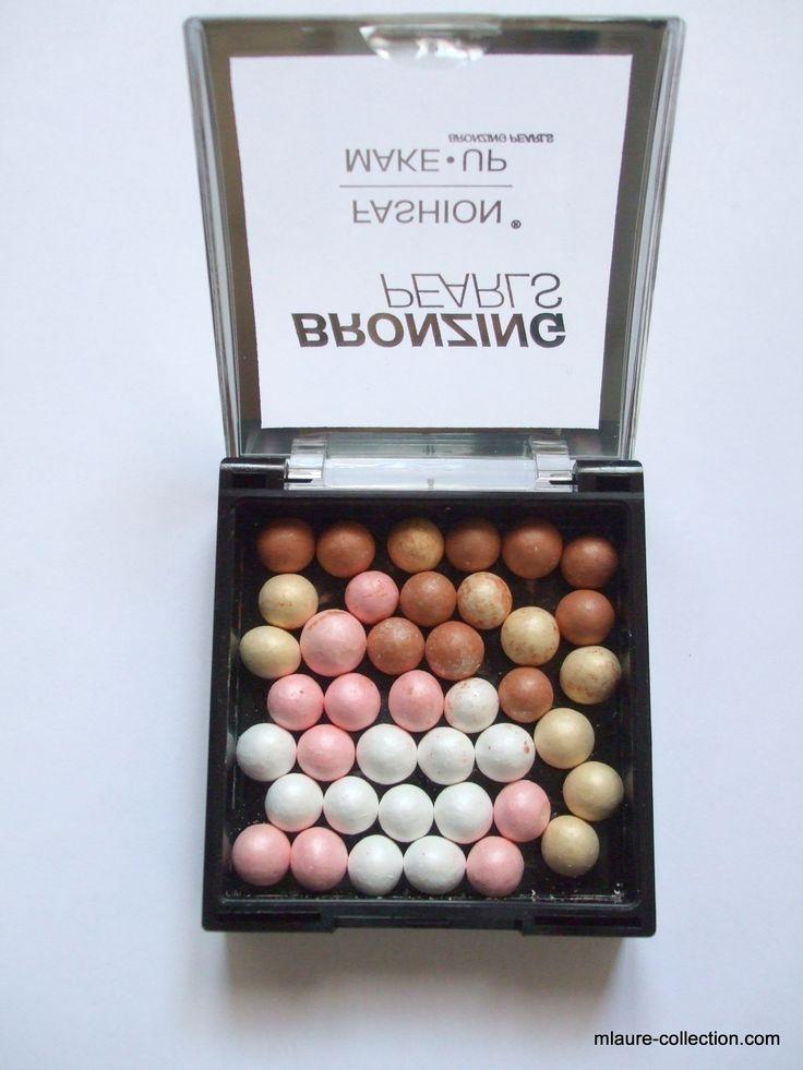 Mélange de perles bronzantes pour un teint comme illuminé.