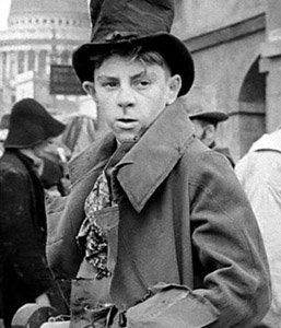 Artful Dodger  (Oliver Twist - 1948) Anthony Newley in David Lean's film. What a marvellous picture.   My novel, 'Artful', tells the continuing story of the Artful Dodger.