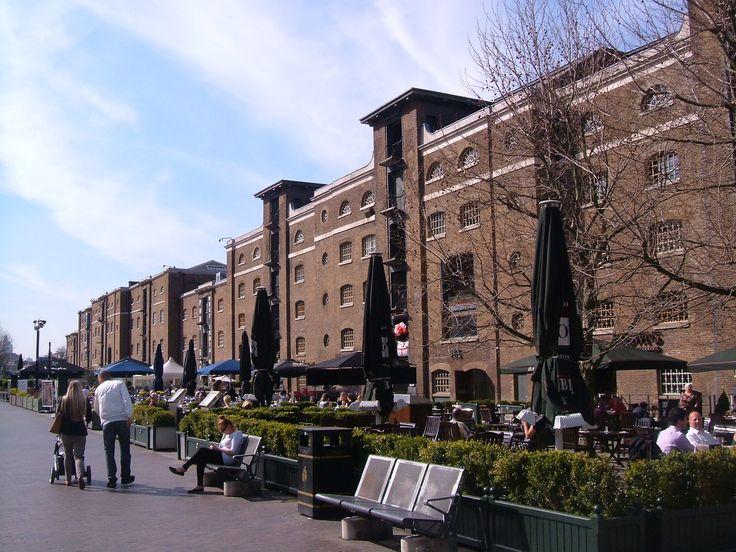 West India Docks | London Diary (Bradshaws Hand Book)