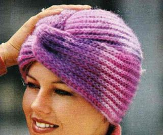 Isabelle Andréo Tricot: Tuto Turban