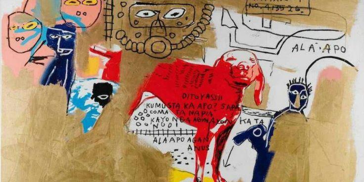 """Basquiat al Mudec fino a febbraio. Il """"Picasso nero"""" riuscì insieme a Keith Haring a portare il graffitismo dalle strade metropolitane alle gallerie d'arte"""