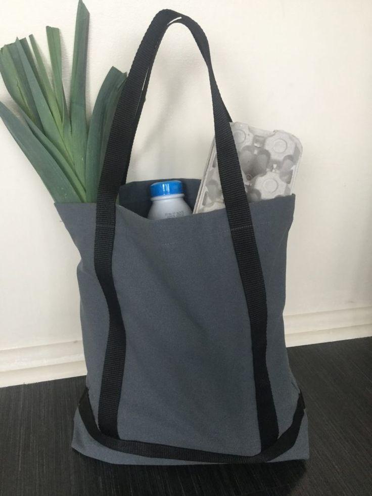 Patron gratuit: sac de course pliable